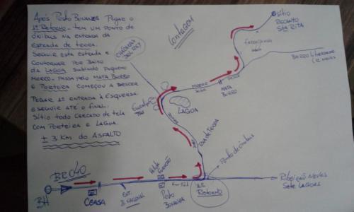 Mapa Sítio